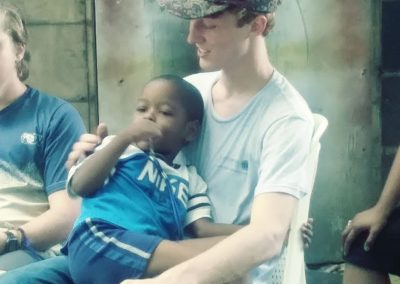 missionary and little boy