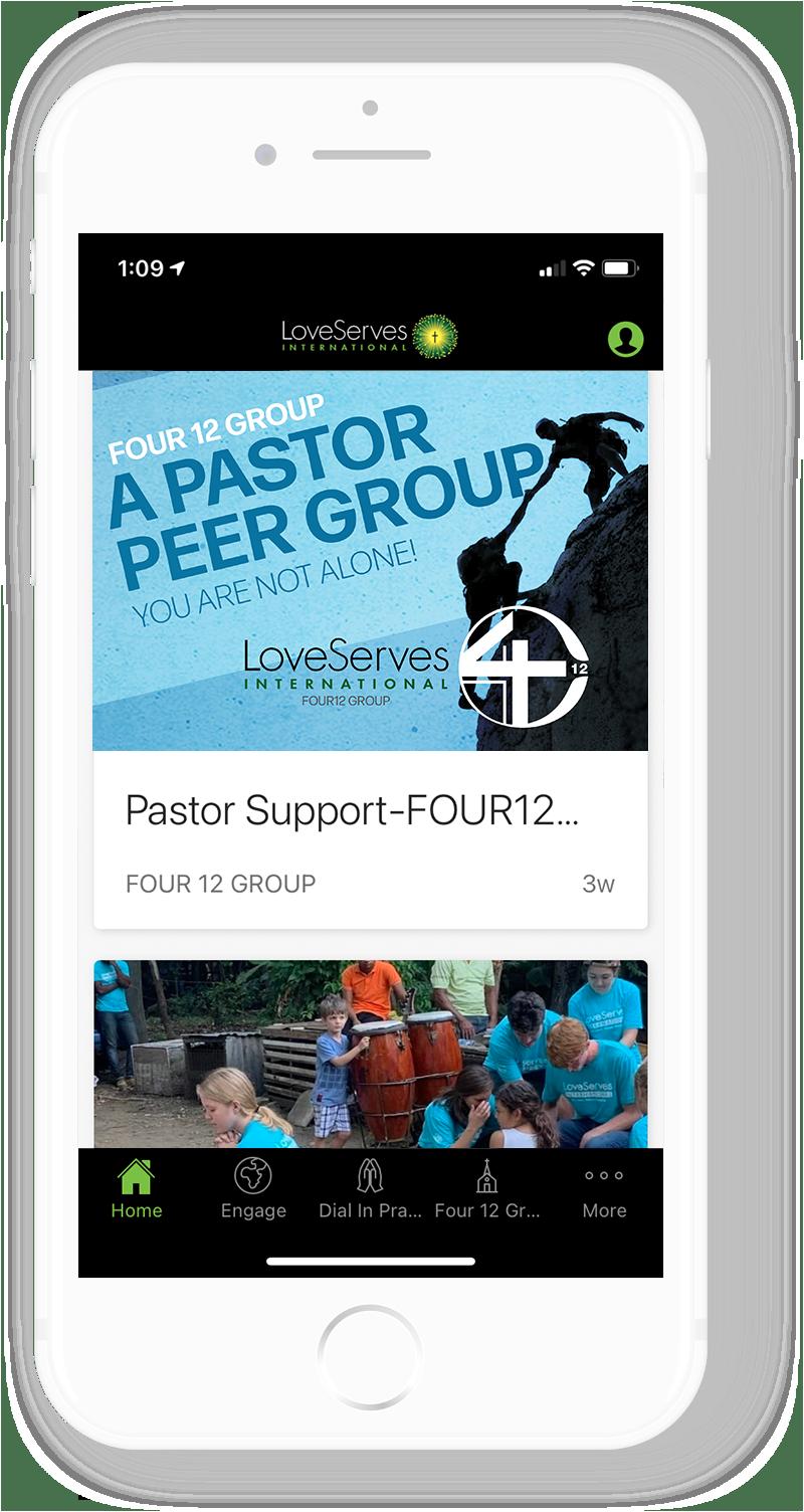 LSI Four12 Group App