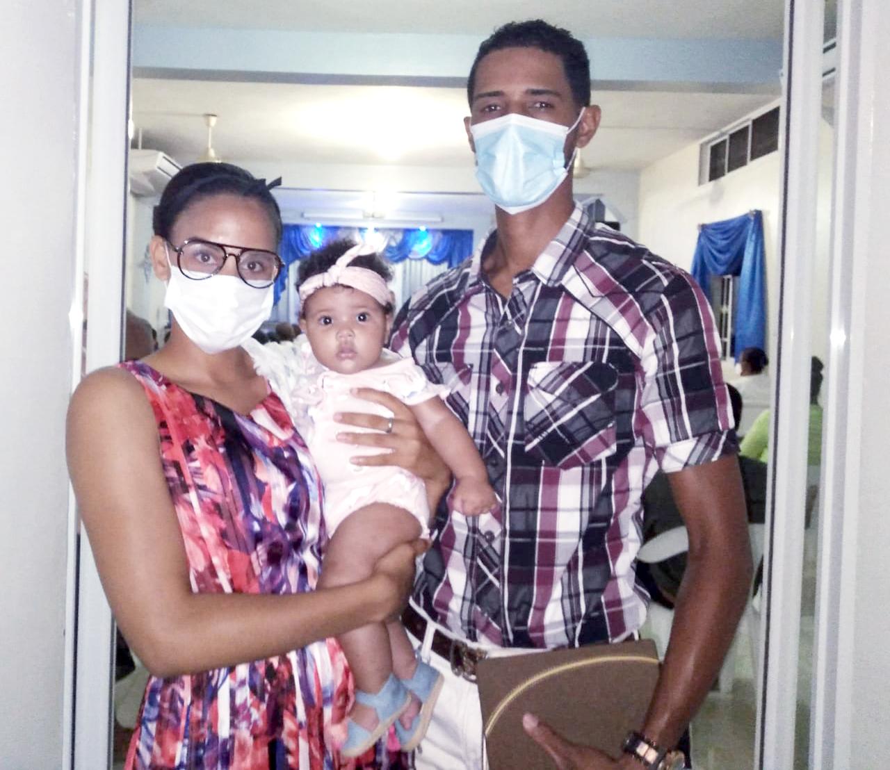 Jose Rafael (JR) & his family